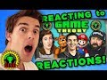 MATPAT REACTS to YOUTUBERS REACT to GAME