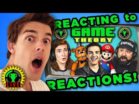 Download Youtube: MATPAT REACTS to YOUTUBERS REACT to GAME THEORY!