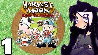 Harvest Moon: Back to Nature - PART 1 [2019 STREAM] MY FAV HARVEST MOON - PS1 Gameplay - Let's Play