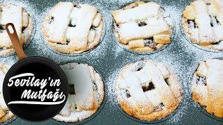 Elmalı Turta Nasıl Yapılır? |Muffin Kalıbında Porsiyonluk Elmalı Turta Tarifi