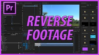how to Reverse a Video in Premiere Pro  Adobe Master Class  Premiere Pro Tutorial