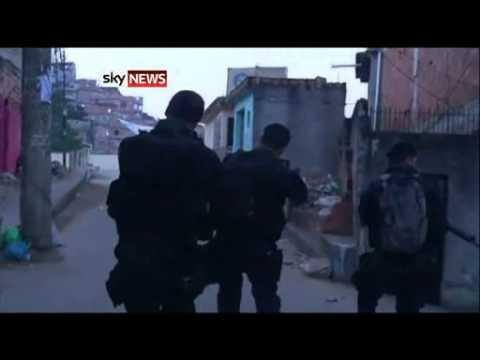 Marshall Law in Rio De Janeiro