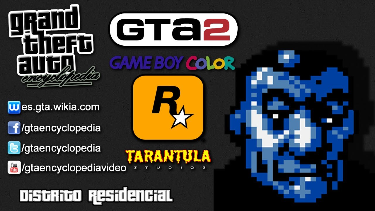 Gta 2 gameboy color - Grand Theft Auto 2 Gbc Distrito Residencial
