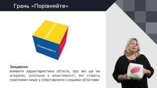 Українська мова. Стратегія розвитку критичного мислення «Кубування»