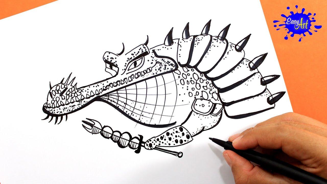 How to draw mestro croc Kung fu panda / Como dibujar maestro ...