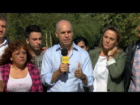 Rodríguez Larreta recorrió las obras del camino de Sirga