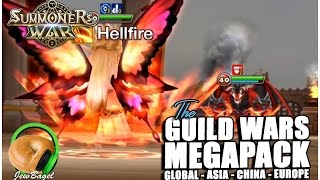SUMMONERS WAR : Guild Wars Megapack (Global, Asia, China, Europe)
