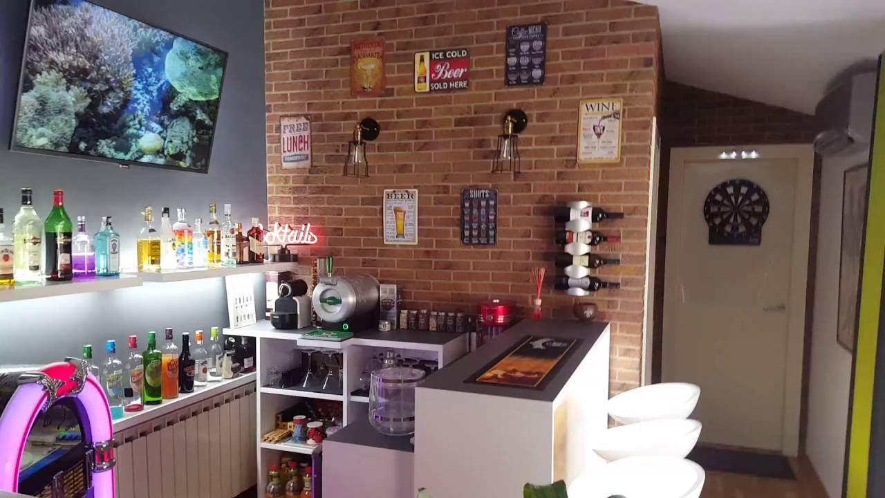 Home Bar Bar En Casa Con Terraza Y Salón Recreativo