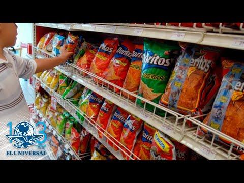 Avalan diputados nuevo etiquetado frontal con advertencias en alimentos