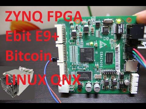 Bitcoin Xilinx ZYNQ7010 Dual-core ARM Cortex-A9 FPGA Ebit E9+ Board Running Linux And QNX - 20$