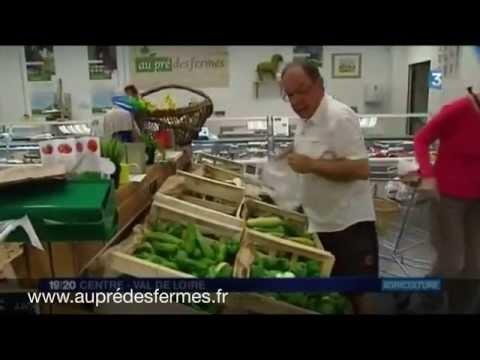 Présentation du magasin de producteurs au pré des fermes de Bourges