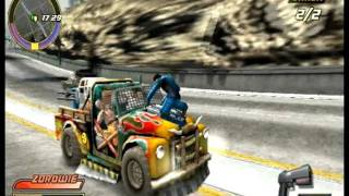 Pursuit Force: Extreme Justice PSP Gameplay