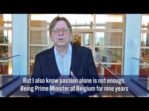 Guy Verhofstadt for EP President