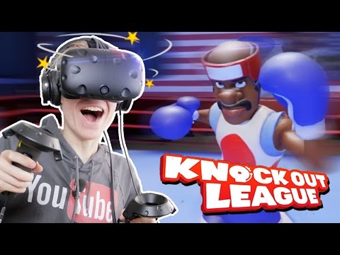 BOXING IN VIRTUAL REALITY!   Knockout League VR #1 (HTC Vive Gameplay)