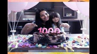 AGRADECIMENTO AOS + DE 1000 INSCRITOS !!!!