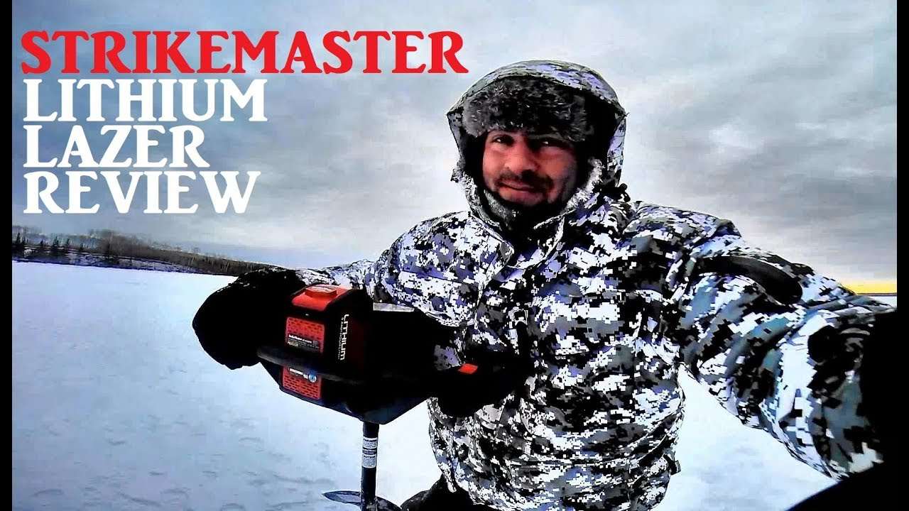 Strikemaster Lithium Lazer 40V Ice Auger Review