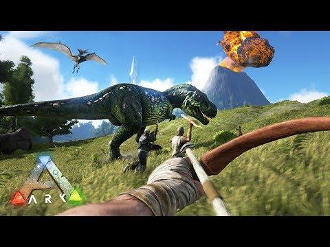 ARK: Survival Evolved - DINOSAUR ISLAND SURVIVAL!! (ARK Ragnarok Gameplay)