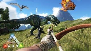 ARK: Survival Evolved - DINΟSAUR ISLAND SURVIVAL!! (ARK Ragnarok Gameplay)