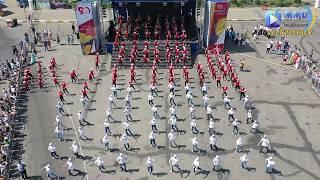 Танцевальные коллективы города поздравили Воскресенск с юбилеем!