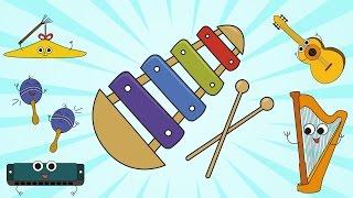 Instrumentos Musicais para Crianças (Android/iOS)