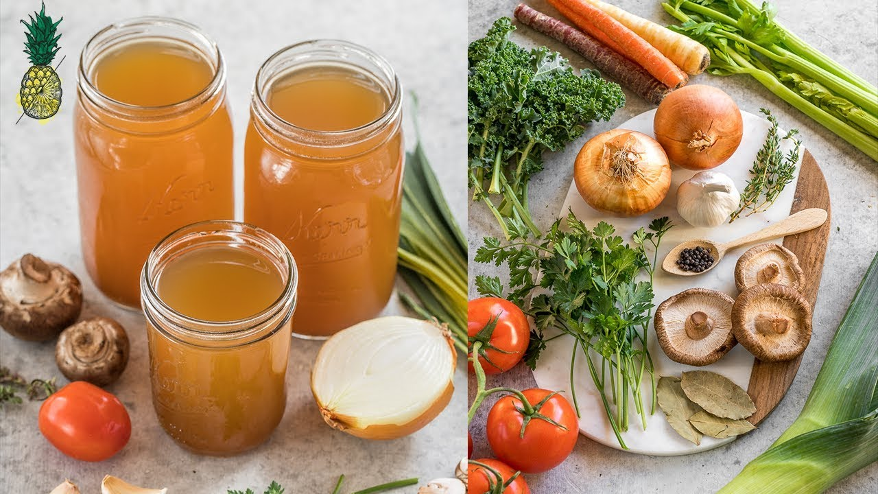 How To Make Vegetable Broth | Easy & Cheap!