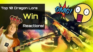 Top 10 Dragon Lore  wins reactions !!!!