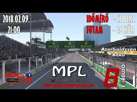 MPL-F1 AZERBAIJAN GRAND PRIX Baku
