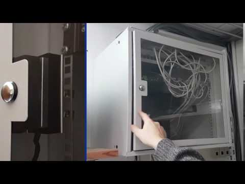 Rack Cabinet Access via POE Web Interface