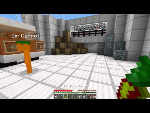 Minecraft | SUPER CARROTS MOD (Sir Carrot is BACK!!) | Mod Showcase [TDM]
