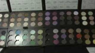 MAC eye shadow obsession / collection