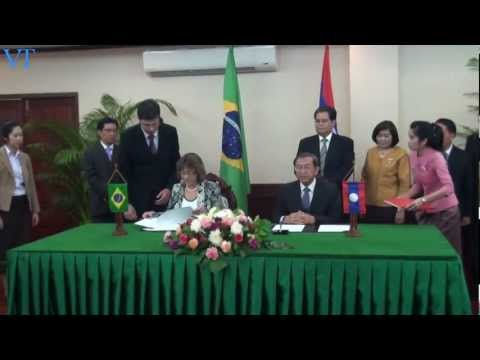 Laos and Brazil agree to waive visas for govt officials
