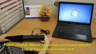 Scanner Portable Plustek MobileOffice S400 part 1