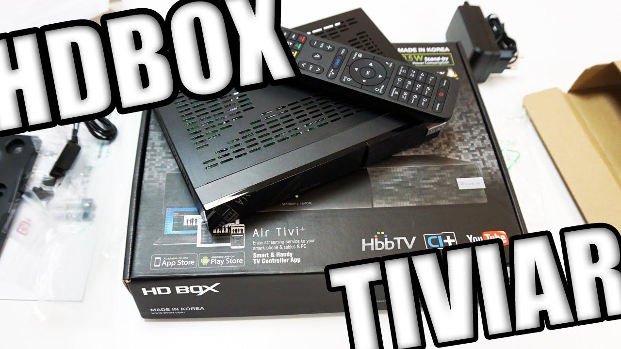 Спутниковый Linux ресивер HDBOX TIVIAR MINI HD CI+