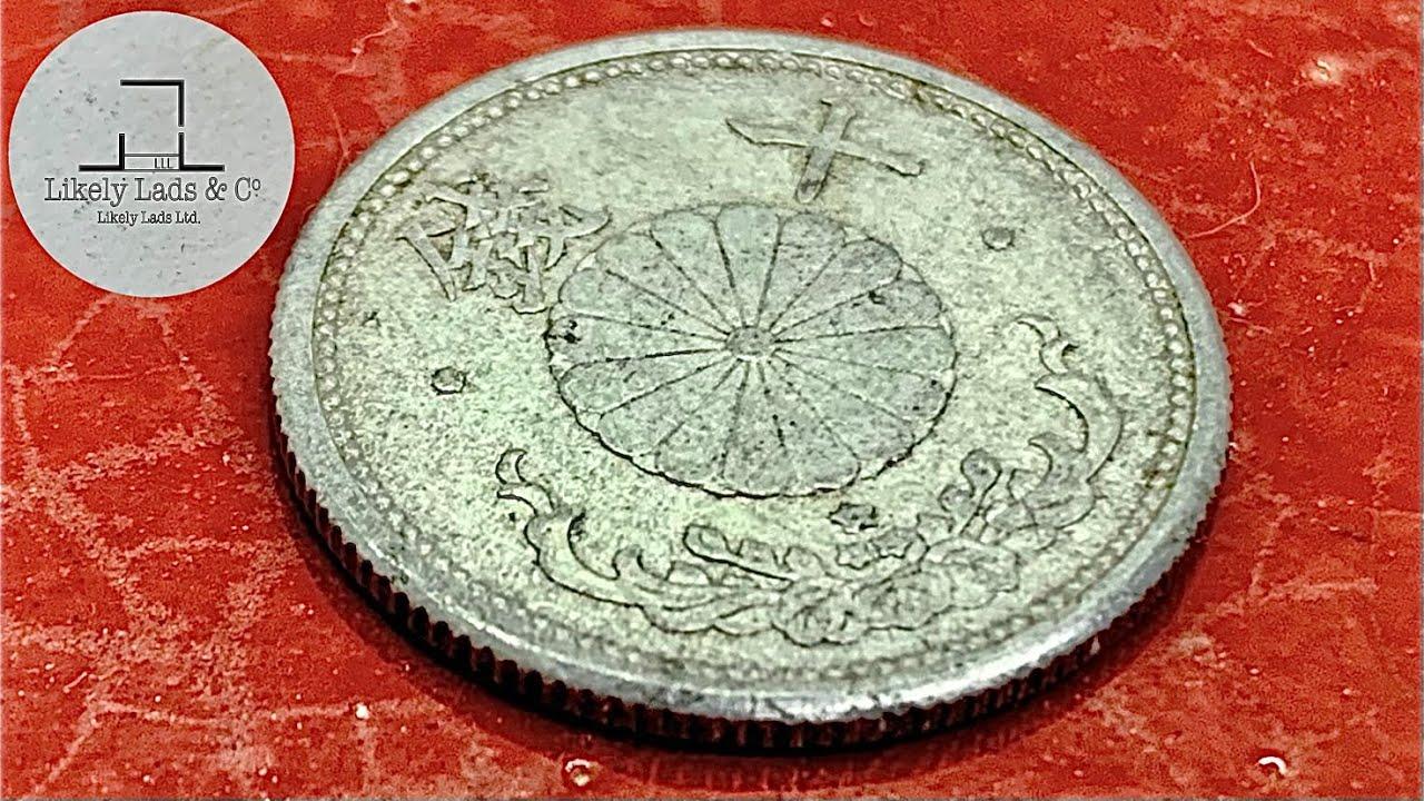 初代ギザ十 10円玉磨き、否、10銭磨き!鏡面仕上げ ピカール Restoration old coins time lapse ASMR