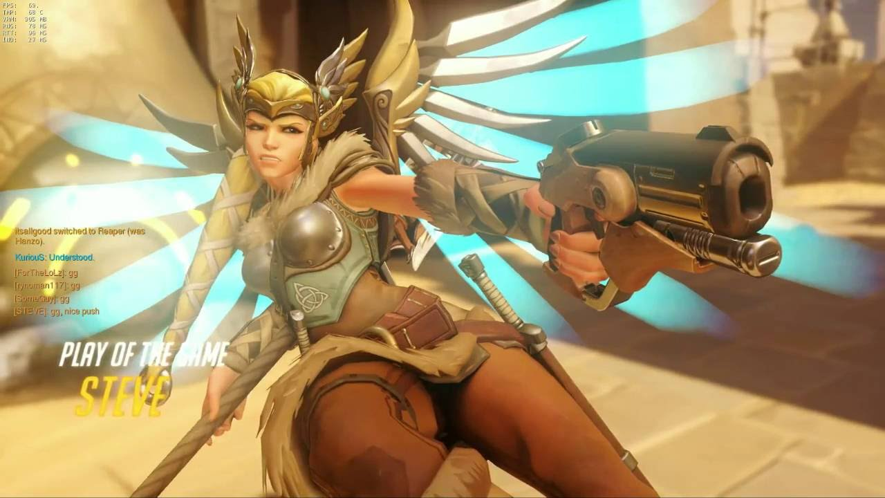 overwatch mercy hot