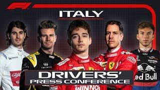 2019 Italian Grand Prix: Pre-Race Press Conference