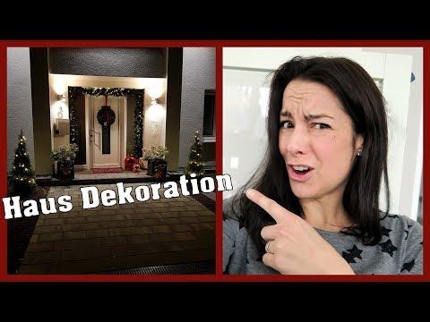 Haus Dekoration für Weihnachten   gabelschereblog