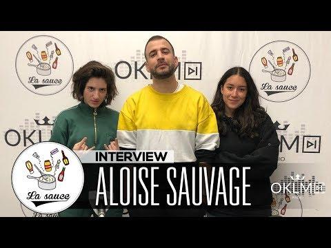 Youtube: ALOÏSE SAUVAGE («Jimy», le cinéma, son rapport au rap, Le Motif…) – #LaSauce sur OKLM Radio