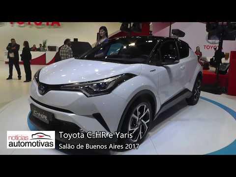 Toyota C-HR e Yaris no Salão de Buenos Aires 2017 - NoticiasAutomotivas.com.br