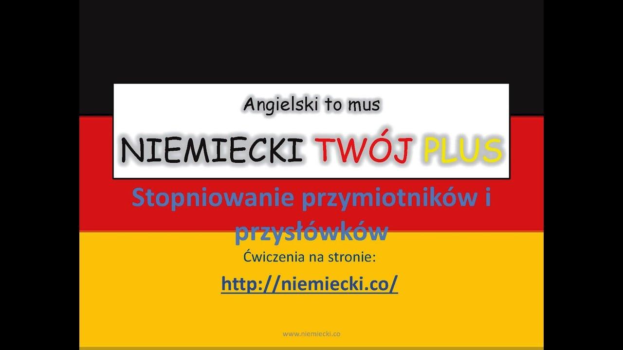 język niemiecki gramatyka ćwiczenia