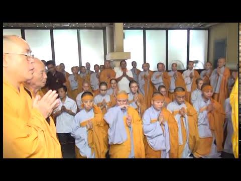 Lễ Tang và Xá Lợi Ni Sư Thích Nữ Như Thọ - Chùa Vô Ưu Quận Tân Bình
