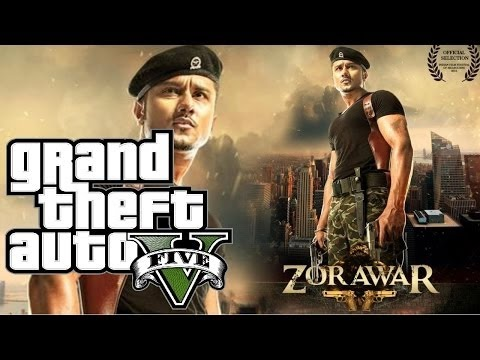 GTA V || Yo Yo Honey Singh||Chaska Official video