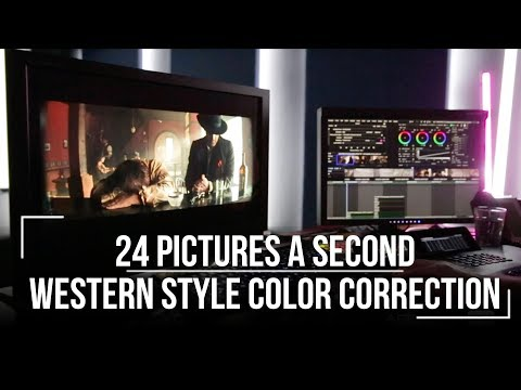 Western Style Color Correction - 24 Pictures A Second
