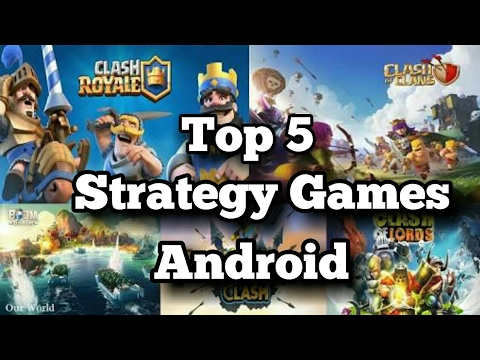 Top 10 Best FREE Android Strategy Games 2017 - YouTube