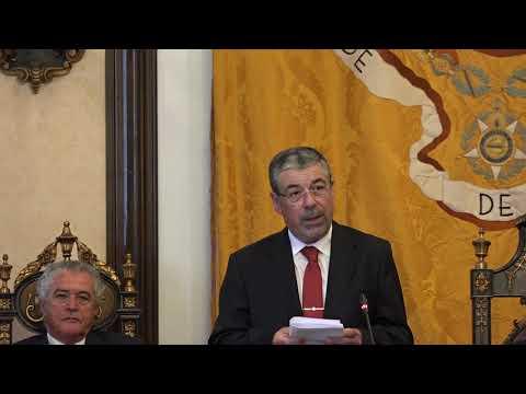 Discurso de Manuel Machado na Sessão Solene de Instalação dos Órgãos do Município de Coimbra
