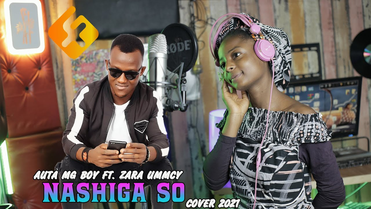 Download Auta mg Boy Nashiga Cover official video by zara ummcy 2021