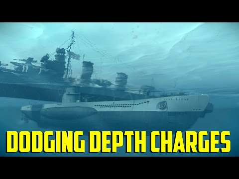 Iron Wolf VR - Dodging Depth Charges