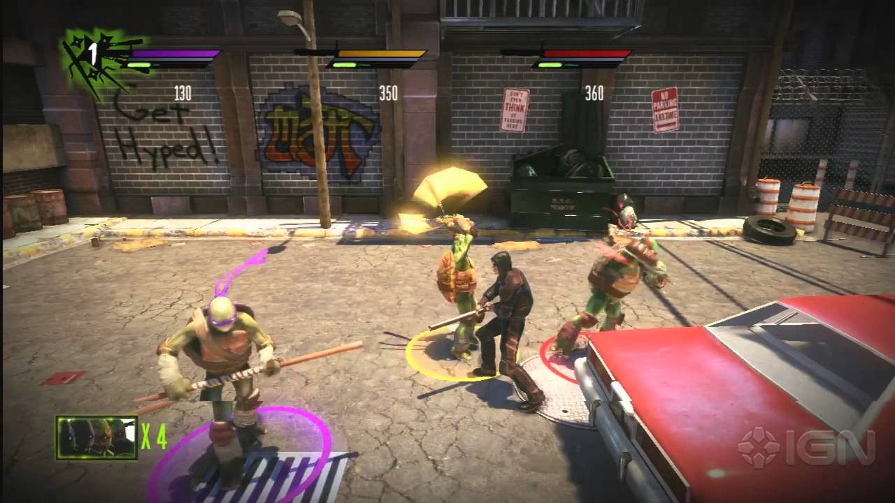 Teenage Mutant Ninja Turtles: Out of the Shadows | PS3 ...
