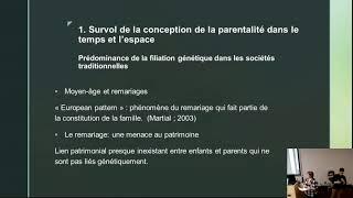 Conférence: «La parentalité: une construction sociale depuis des millénaires»