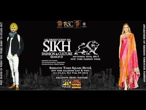 """Sikh Fashion & Culture Season 2"" | Sheraton Times Square Hotel, New York"